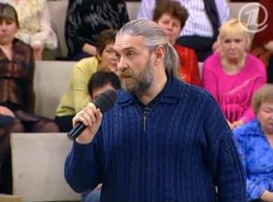 Психолог Алексей Капранов на первом канале